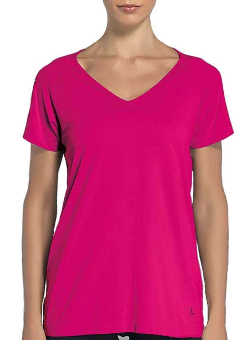 Camiseta manga curta feminina roupa academia ginástica fitness Lupo