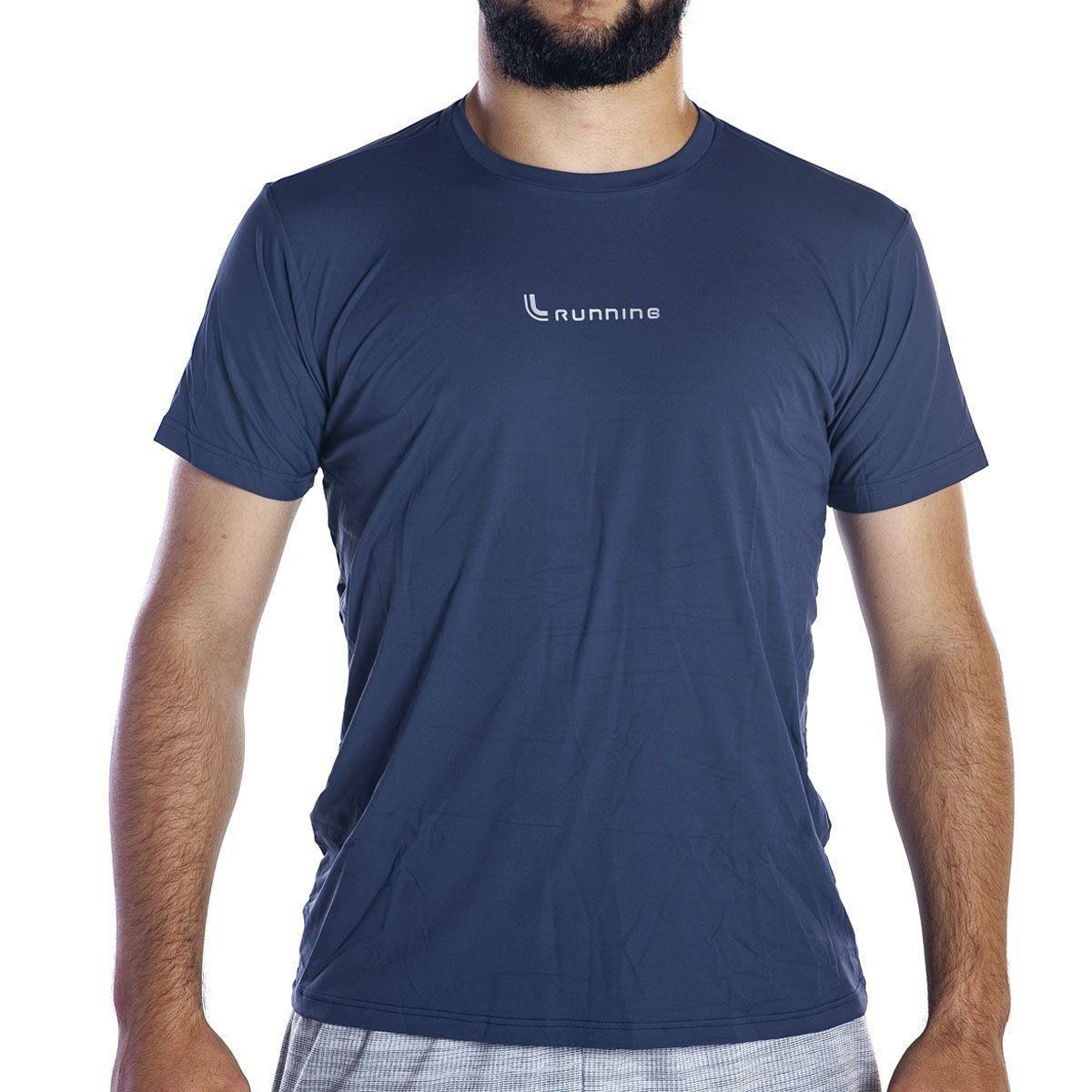 Camiseta masculina manga curta com proteção solar Lupo