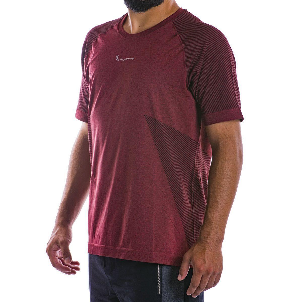Camiseta Mescla Lupo Sport Running Seamless .