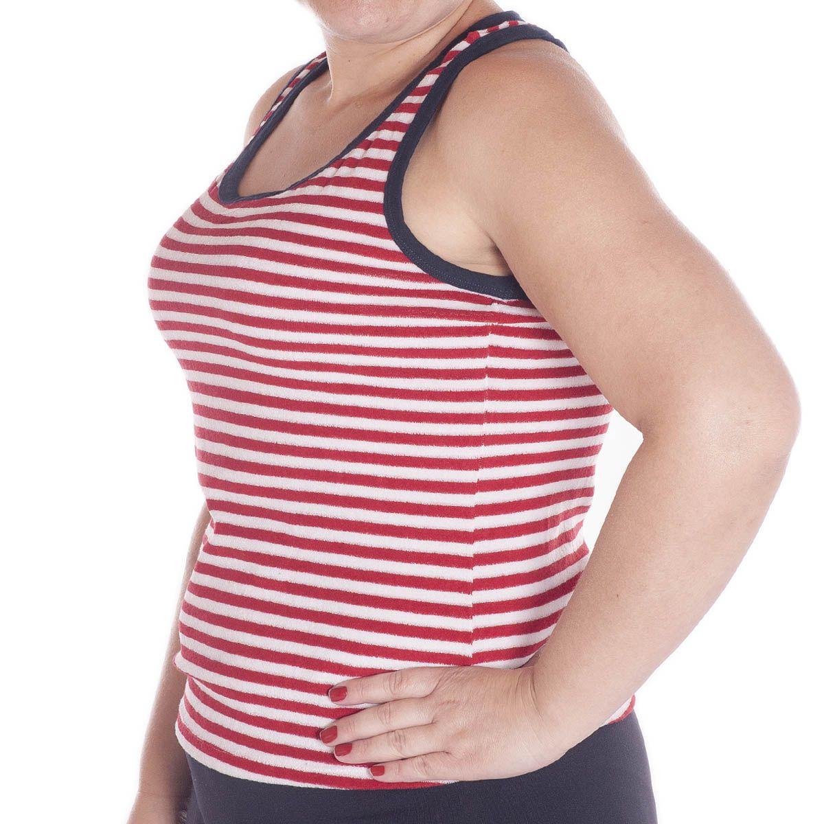 Camiseta Regata Feminina Nadador  -