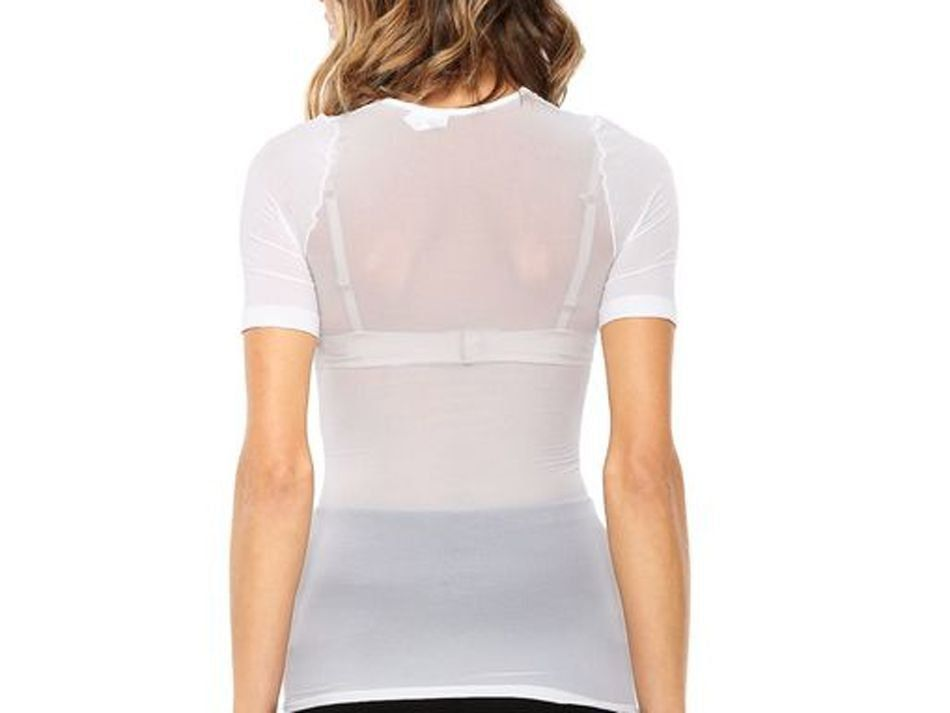 Camiseta segunda pele com manga curta feminina Trifil