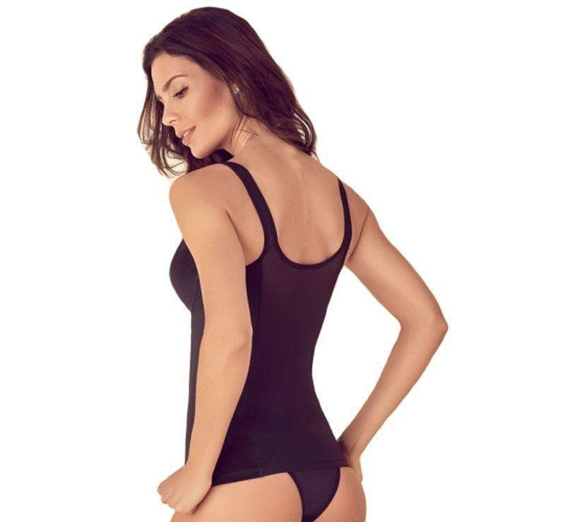 Camisete cinta modeladora feminina com compressão Liebe  -