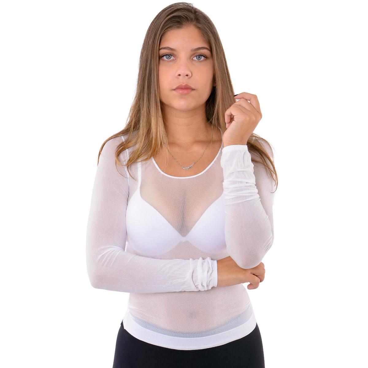 Camisete segunda pele feminina fio 40 Selene
