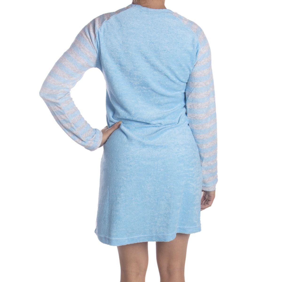 Camisola de inverno feminino LISTRADO Victory