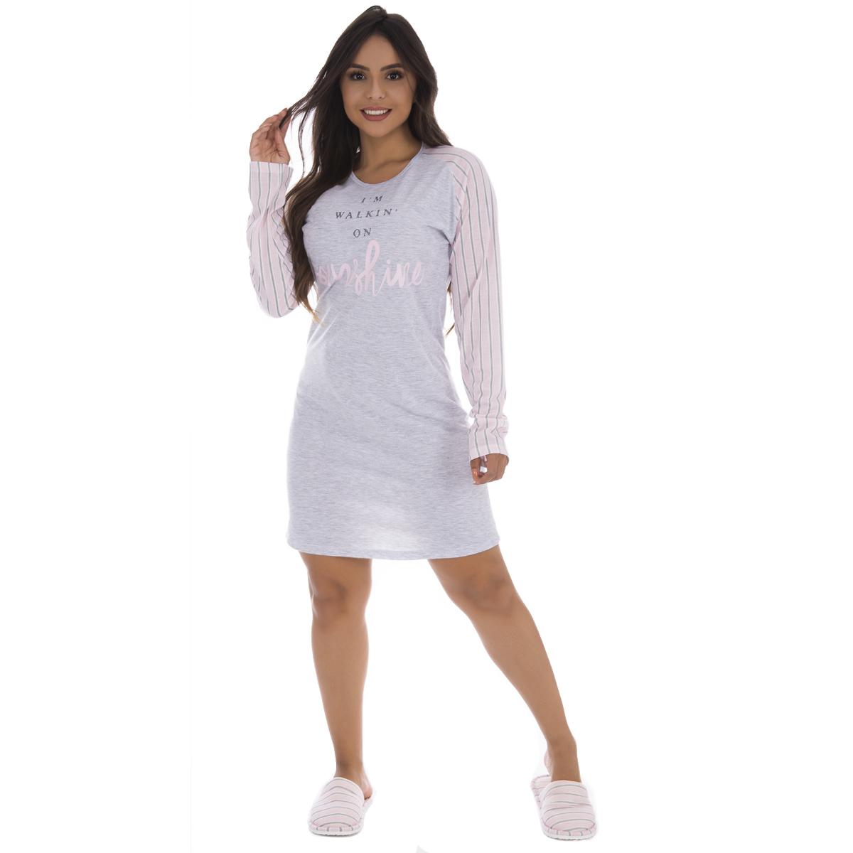 Camisola PV manga longa pijama Victory