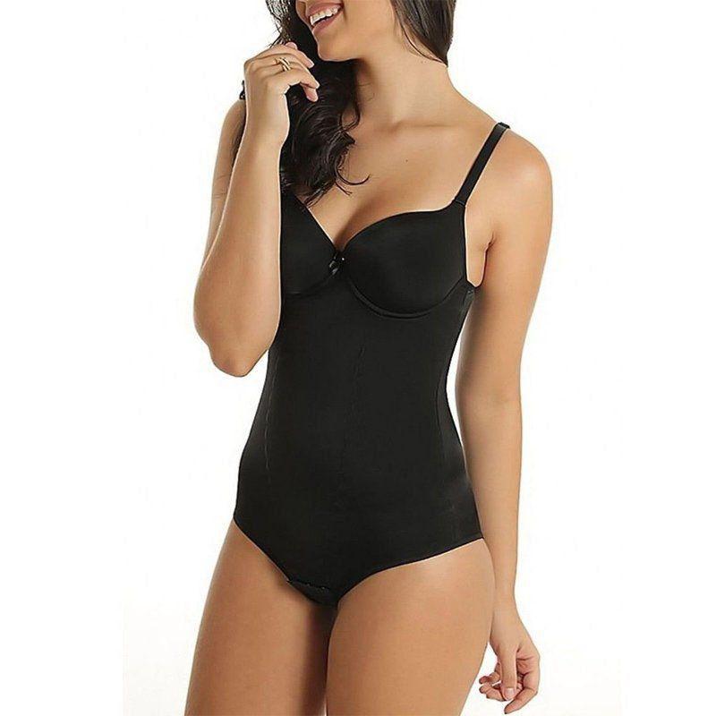 Cinta body bojo modeladora compressão redutora Vi Lingerie