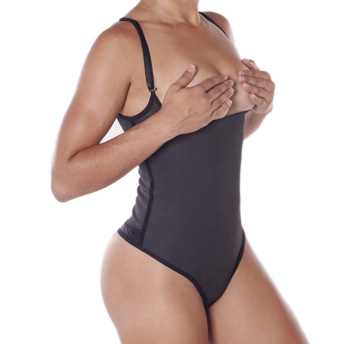 cinta Body emborrachada compressão feminina modeladora Esbelt