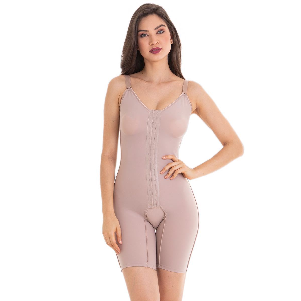Cinta body Modelador compressão macaquinho com perna Esbelt