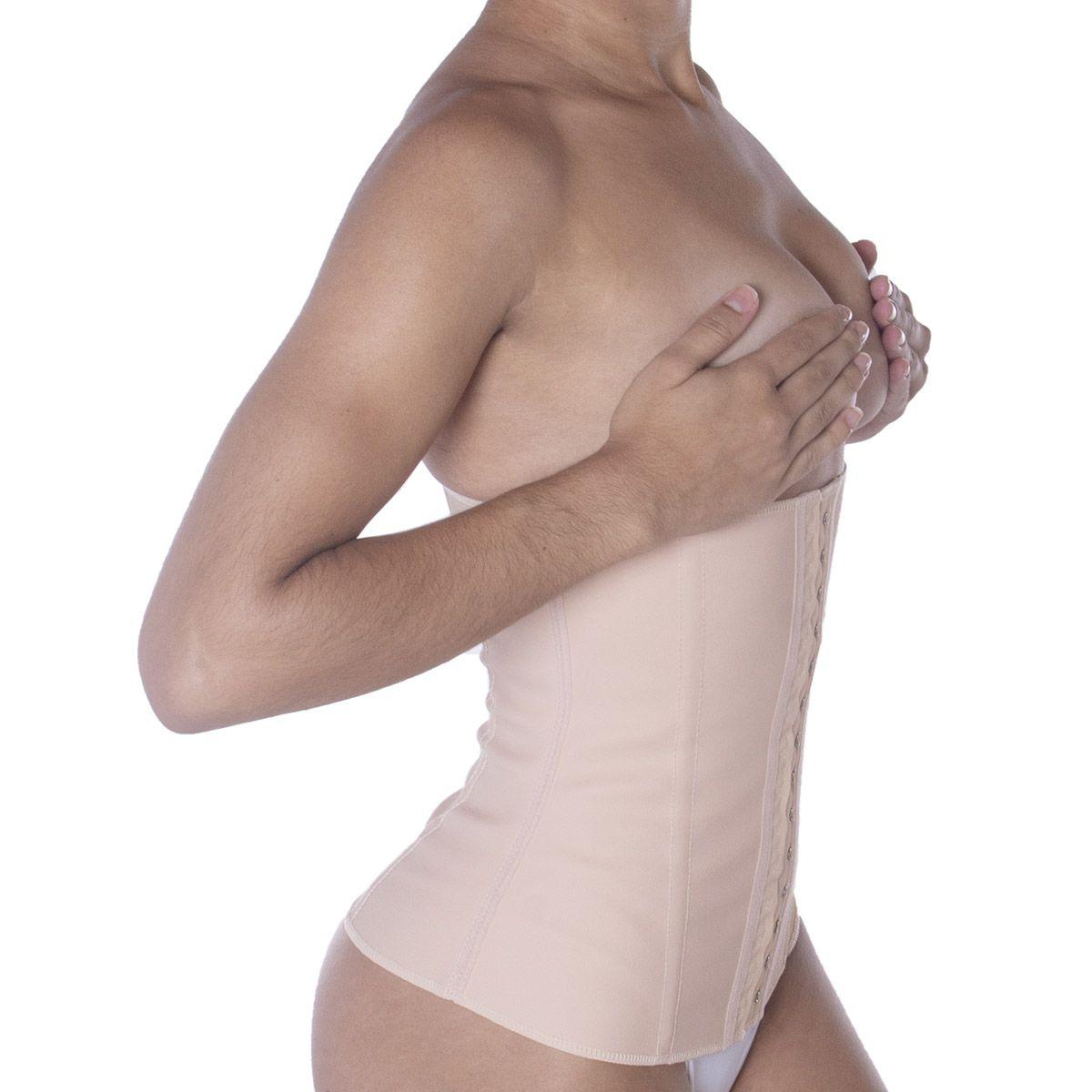 Cinta Modeladora Emborrachada Esbelt - Cotton  shaper feminino