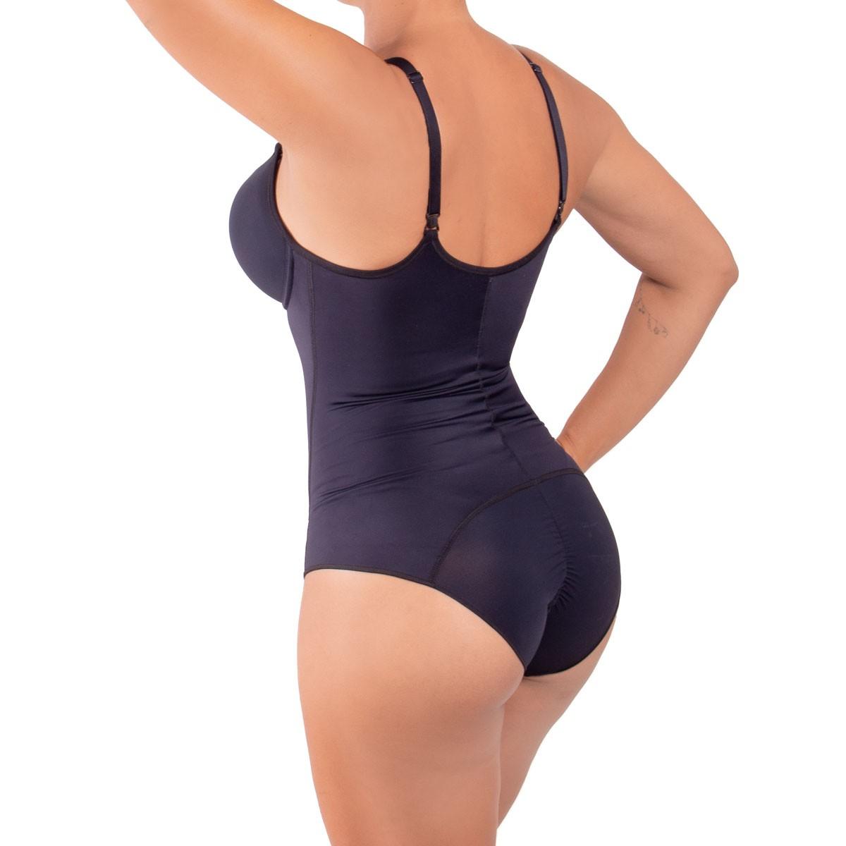 Cinta modeladora feminina body redutor afina cintura bojo Liebe