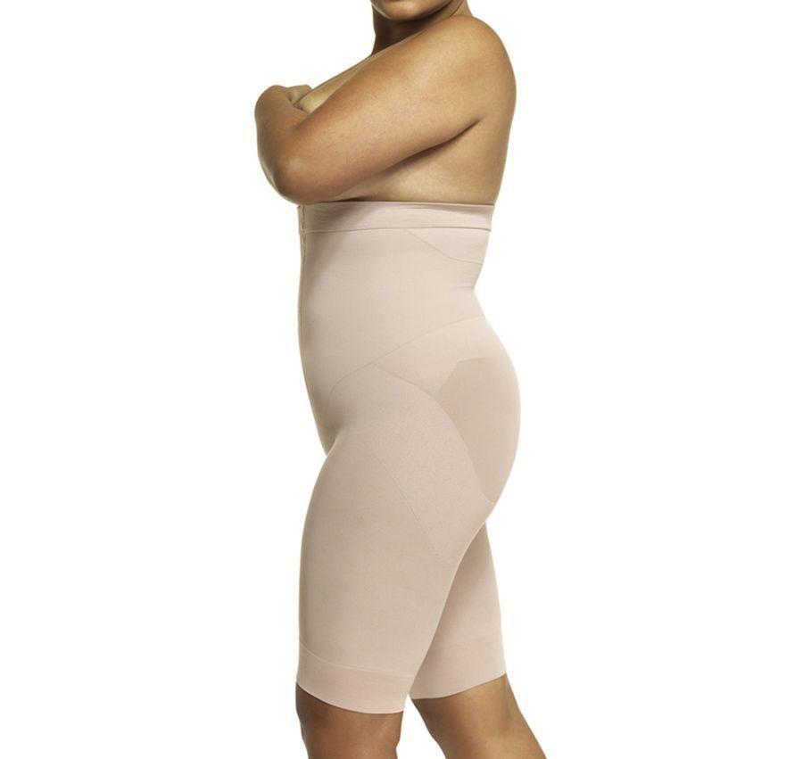 cinta bermuda emana plus size modeladora afina cintura levanta bumbum LOBA -