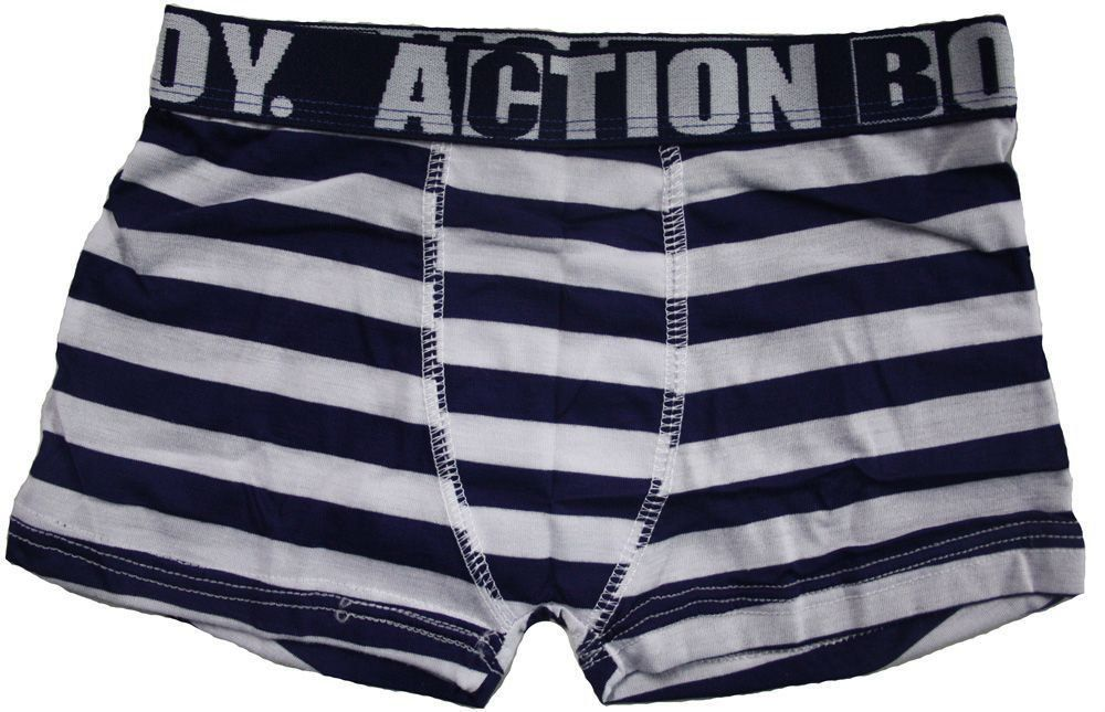 Cueca boxer infantil masculina KIT 3 Action boy