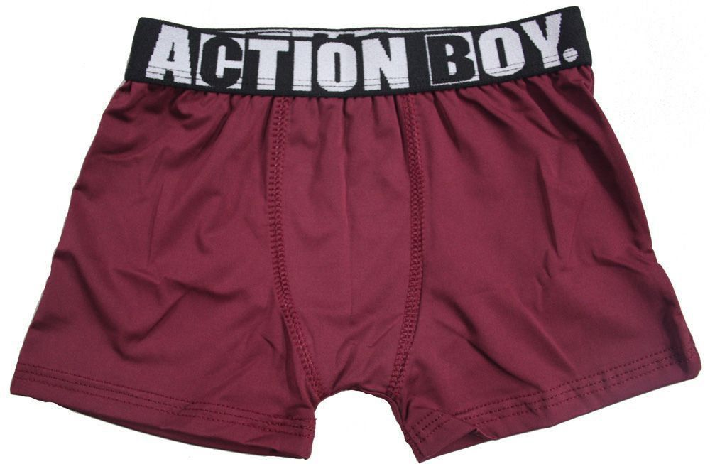 Cueca boxer infantil masculina KIT 3 Action kids