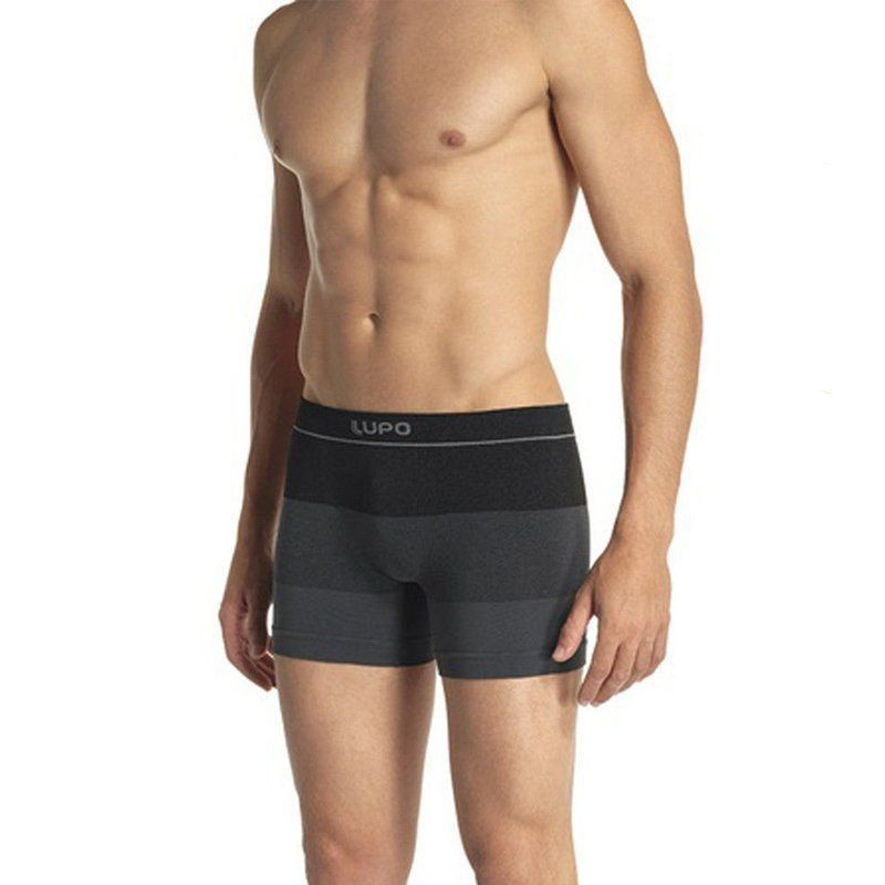 Cueca boxer masculina Lupo box sem costura