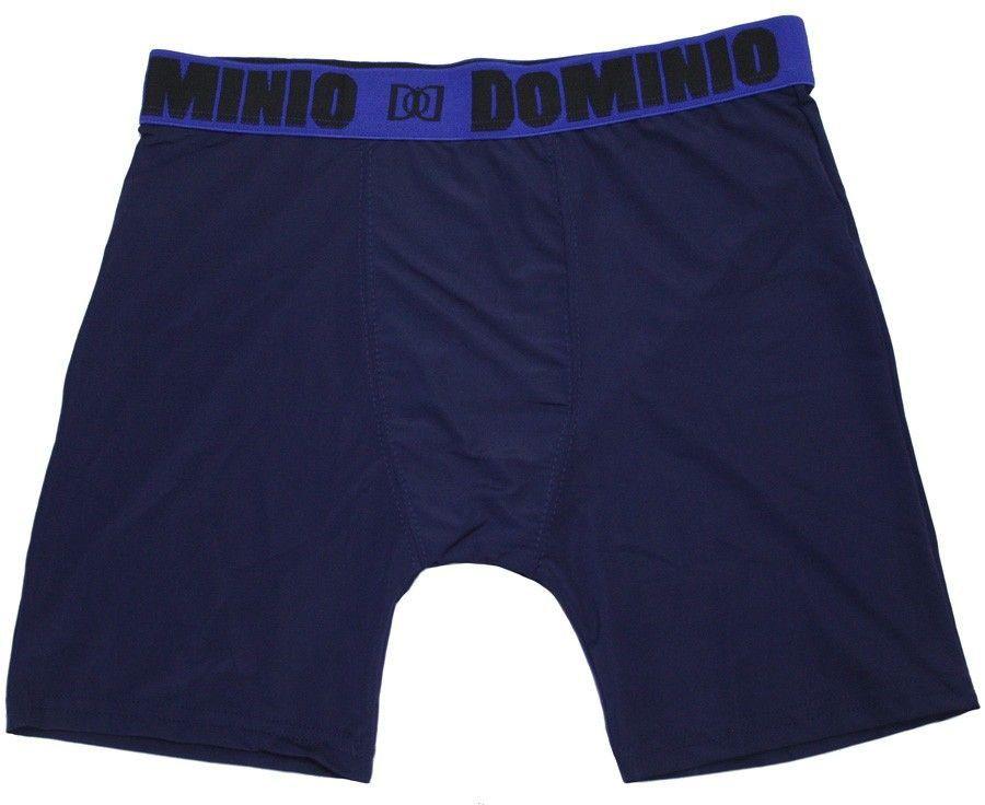 Cueca boxer masculina microfibra adulto box kit 3 Domínio