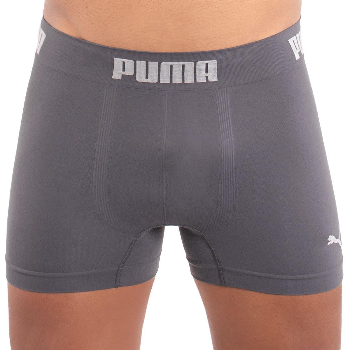 Cueca modelo boxer em microfibra Puma