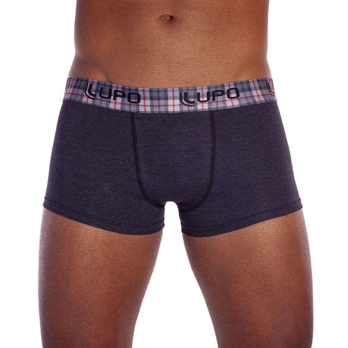 Cueca modelo sunga de algodão masculina da Lupo