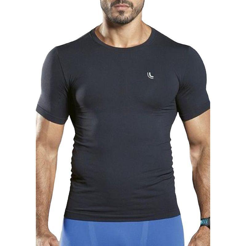 Camiseta Lupo Masculina Fitness para Musculação Térmica Lupo i-power Lupo