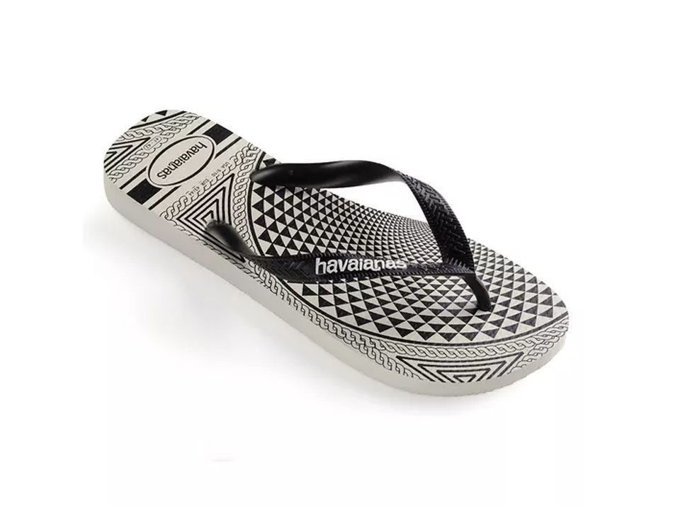 Chinelo Havaianas Masculina Estampa Top illusion Adulto