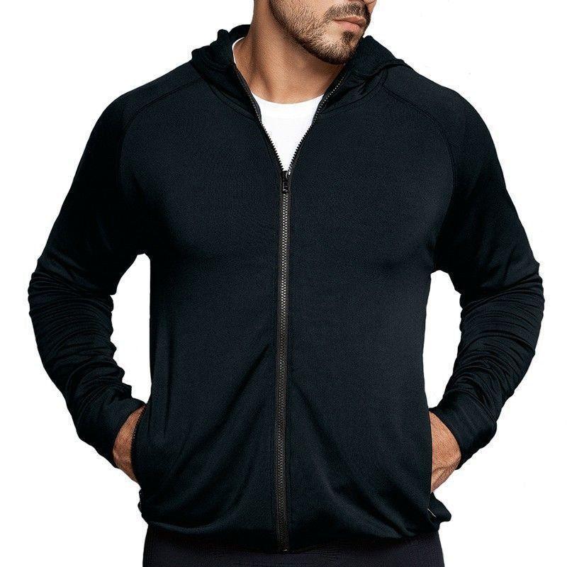 Jaqueta agasalho blusa manga longa masculino fitness esportes Lupo