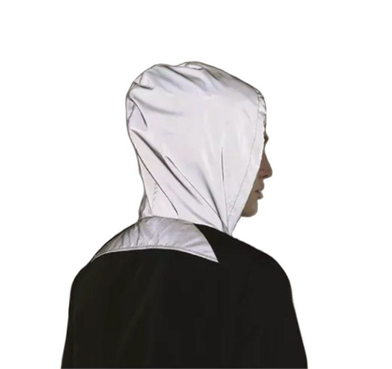 Jaqueta manga longa feminina refletiva para academia e corrida Lupo