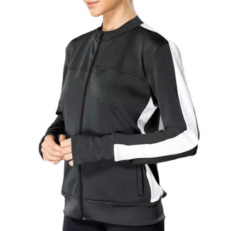 Jaqueta manga longa para academia e corrida feminina Lupo