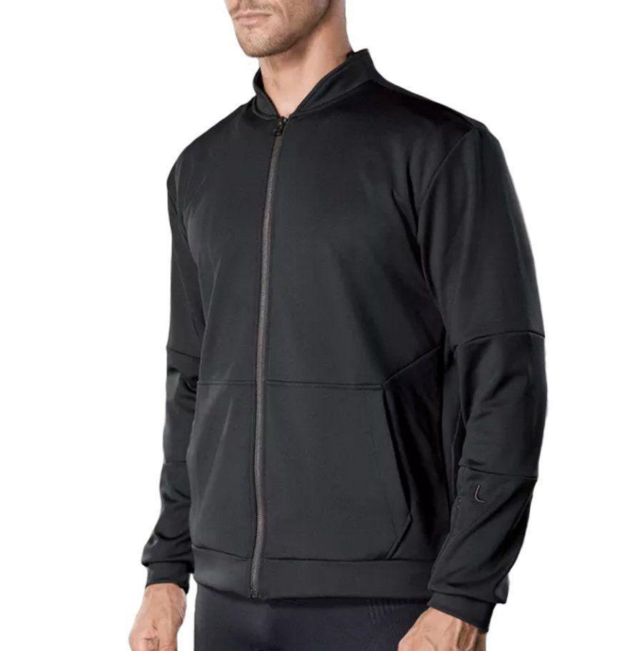 jaqueta masculina manga longa para corrida e academia Lupo .