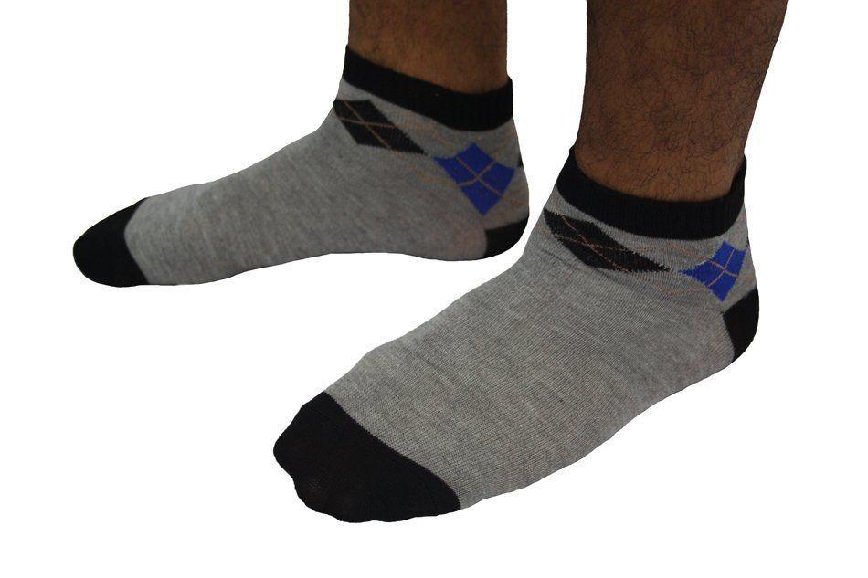 KIT 50 pares de meias Masculinas Sortidas para adulto cano curto