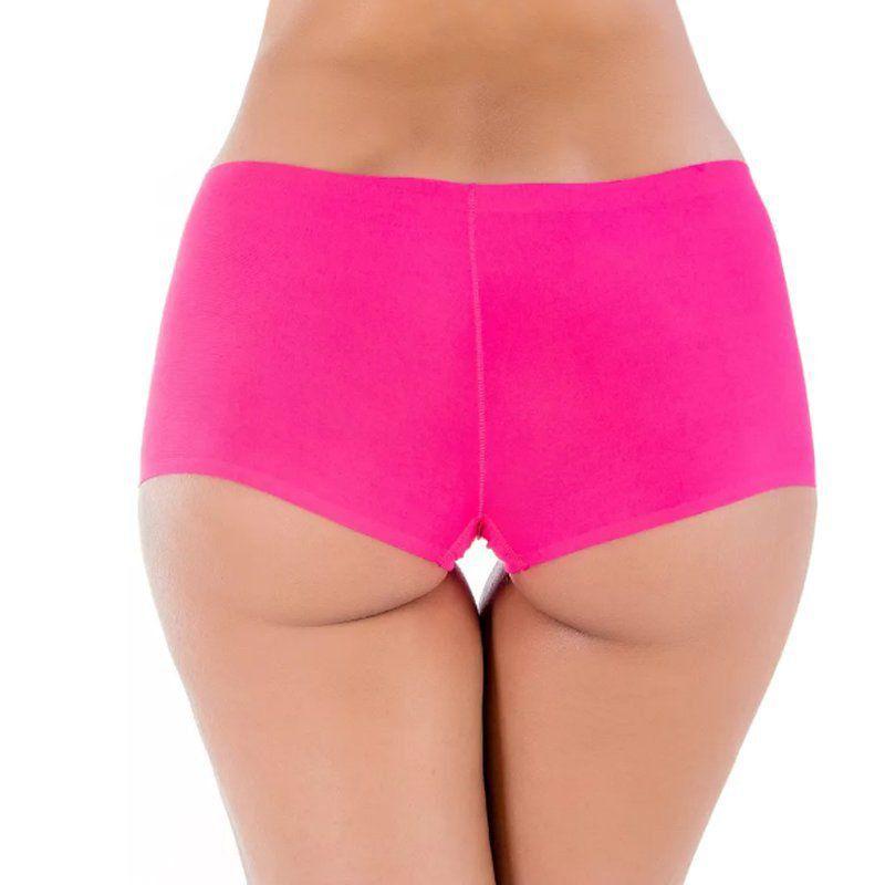 KIT 3 Calcinha Short Feminina Sem Costura Hangar Moriah SC-BX001-3 -