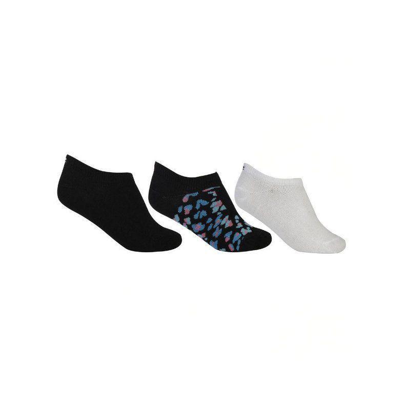 Kit 3 meias femininas soquetes Lupo .