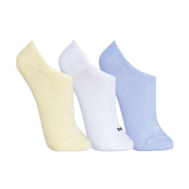 Kit 3 pares de meias femininas soquetes Lupo