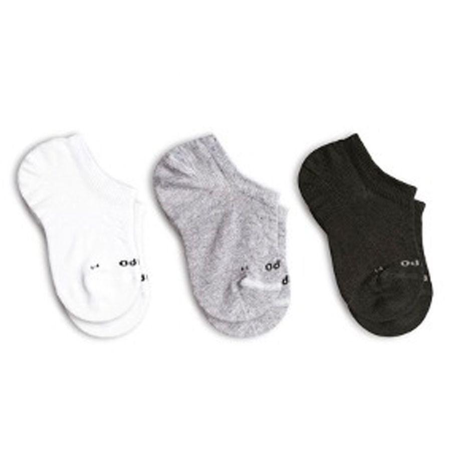 Kit 6 meias Lupo infantil sapatilha