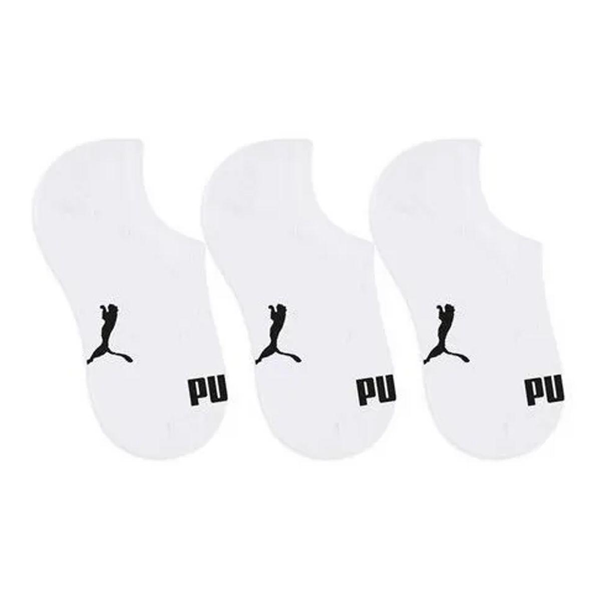 Kit C/3 pares de meias infantil unissex Puma