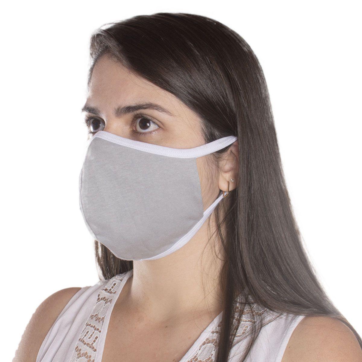 Kit com 1000 Máscaras de Proteção NINJA em Algodão Reutilizável