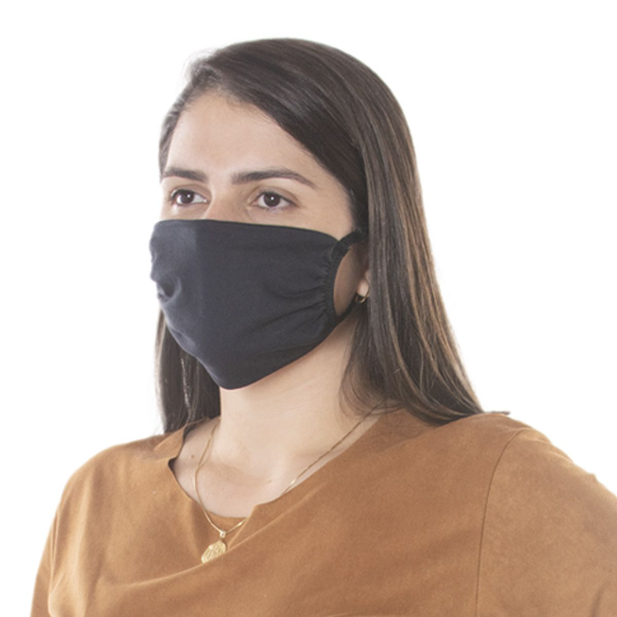 Kit com 1000 Unidades de Máscaras de Proteção em Algodão Reutilizável