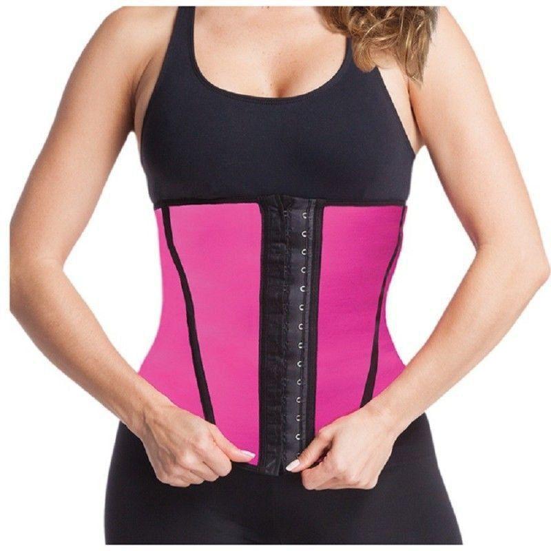 Kit com 10 Cintas Modeladoras Abdominais Feminino Academia Fitness - ESBELT