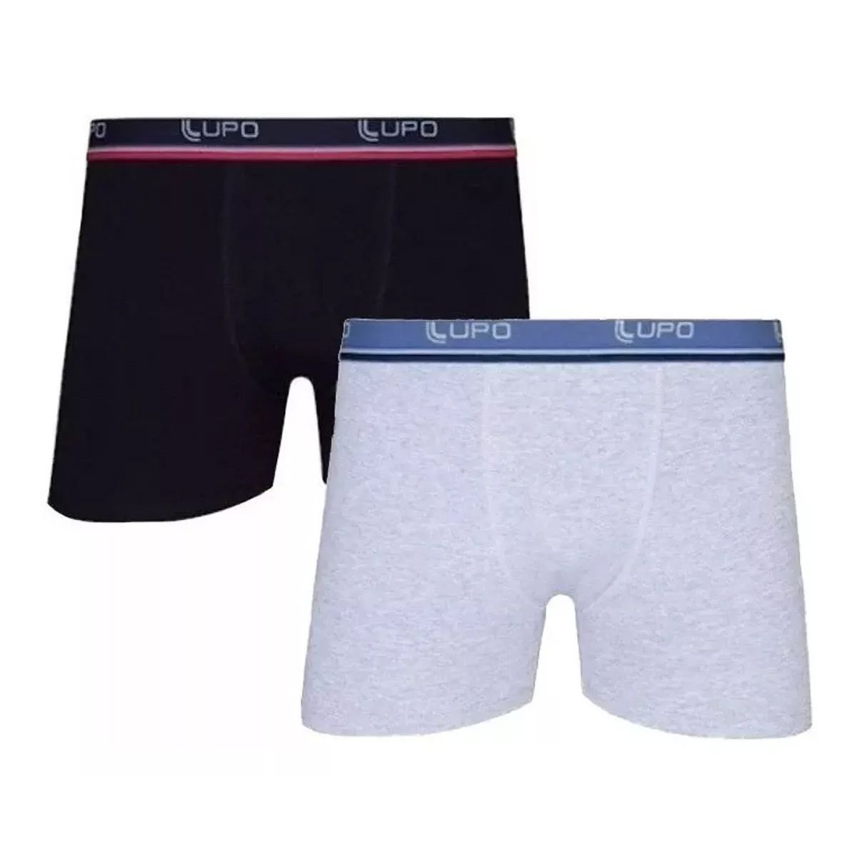 kit com 10 Cuecas masculina Boxer em Algodão LUPO