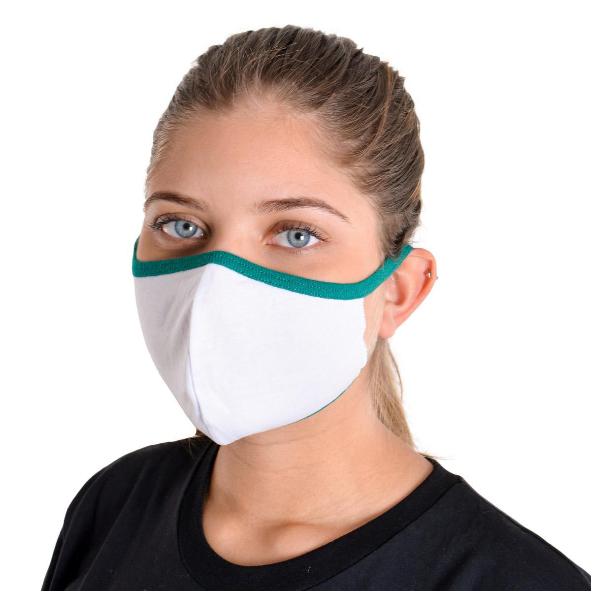Kit com 10 Máscaras de Proteção Ninja em Tecido de Algodão Reutilizável