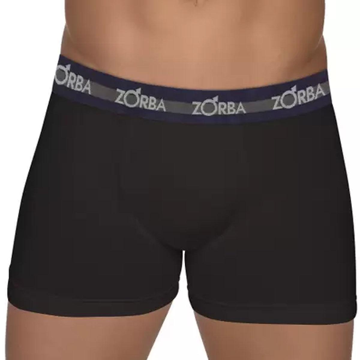 KIT com 2 Cuecas boxer max em algodão masculina Zorba
