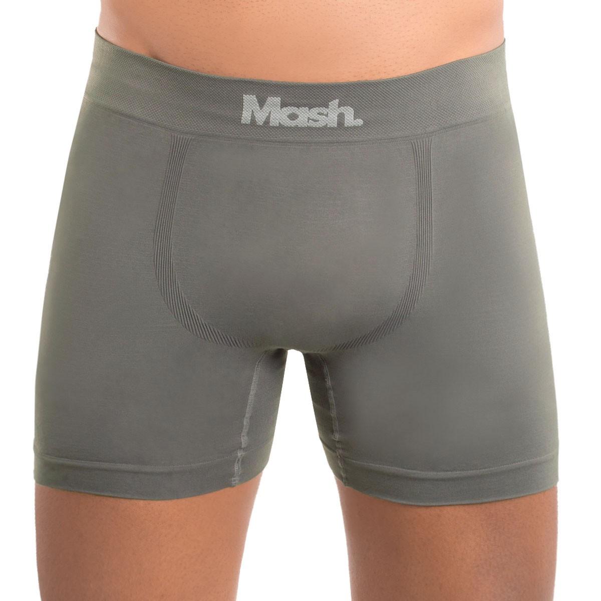 Kit com 2 cuecas modelo boxer em micromodal Mash