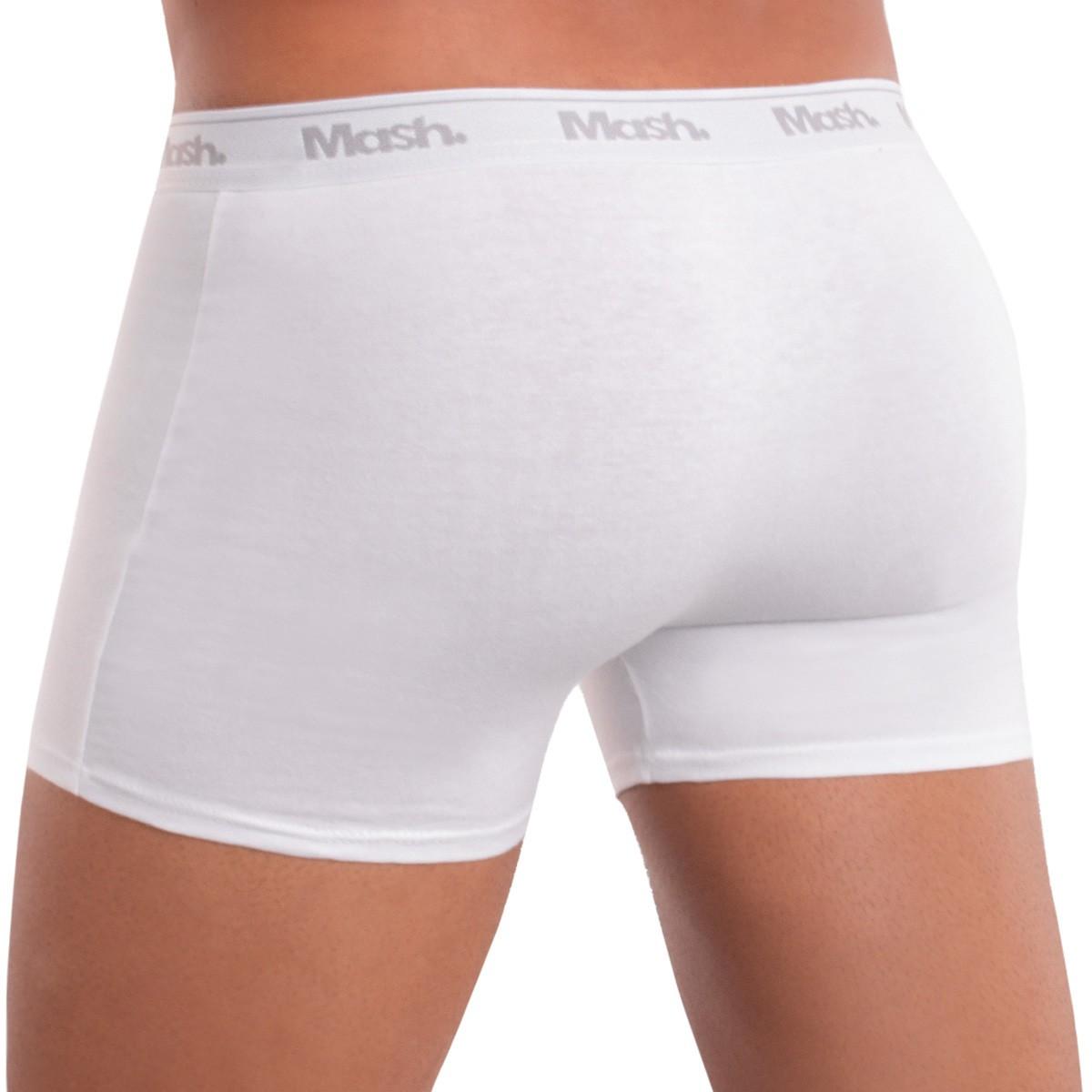 KIT com 2 Cuecas modelo boxer lisa em algodão Mash
