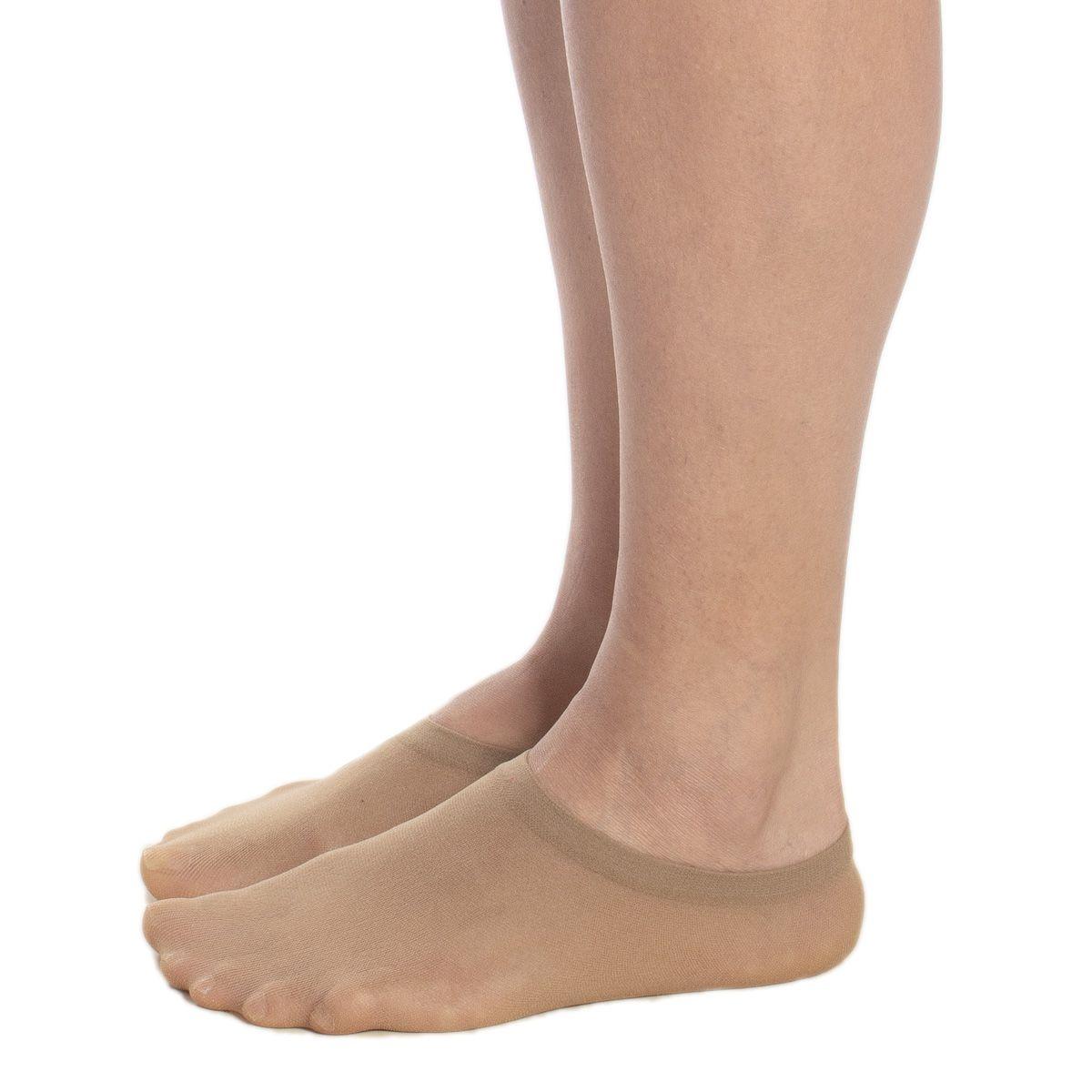 Kit com 2 pares de meias sapatilha Selene