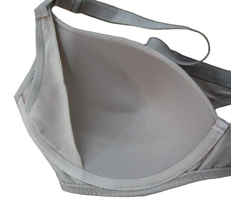 Kit com 2 Sutiãs Amamentação com Bojo flexível - Lingerie Ideal para a Mamãe - Marca Morisco