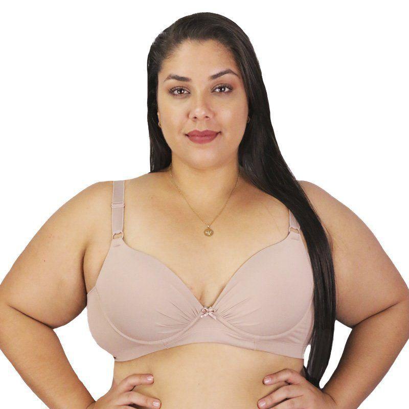 KIT Com 2 Sutiãs Sustentação Plus size Nayane Rodrigues
