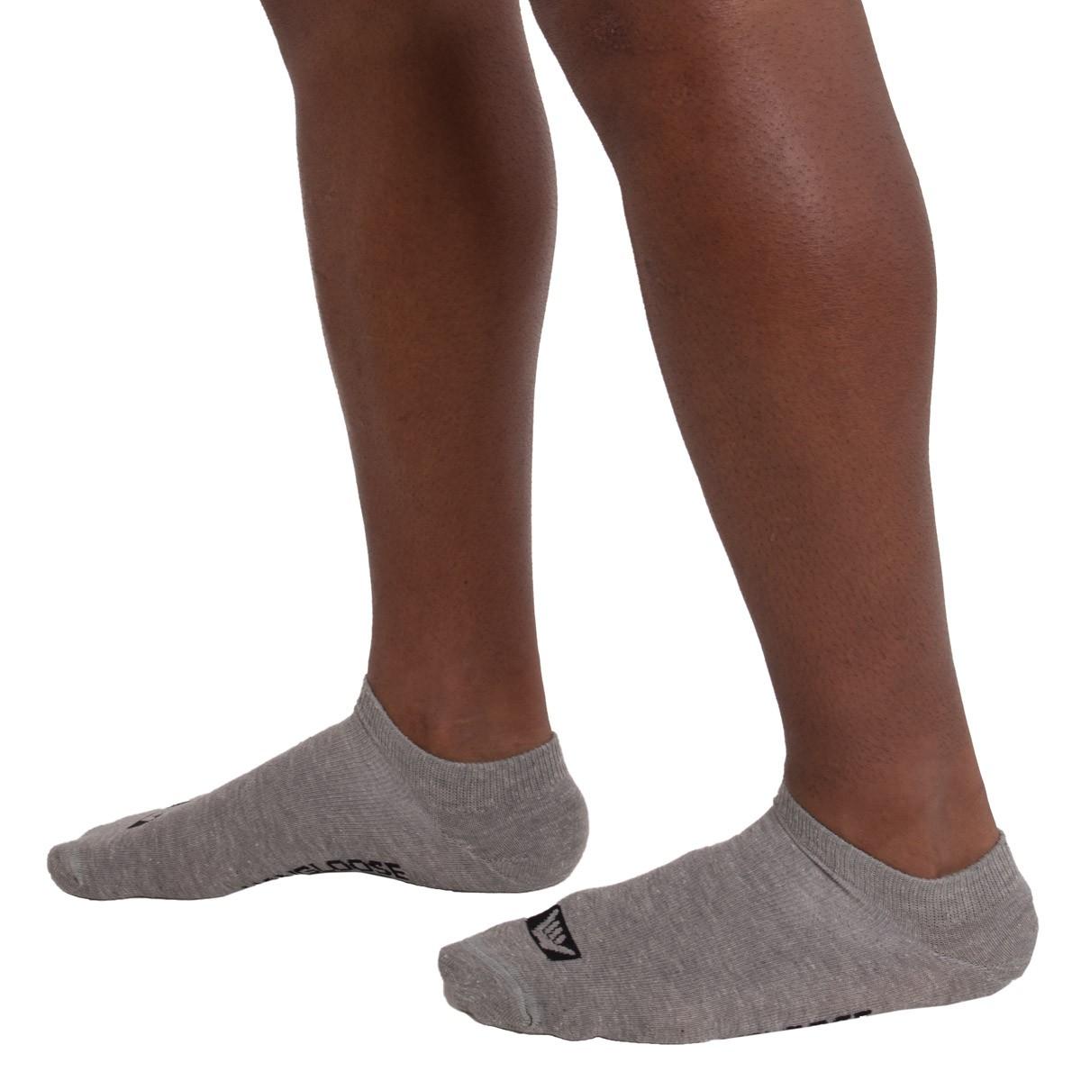 KIT com 3 Meias invisível em algodão Hang Loose