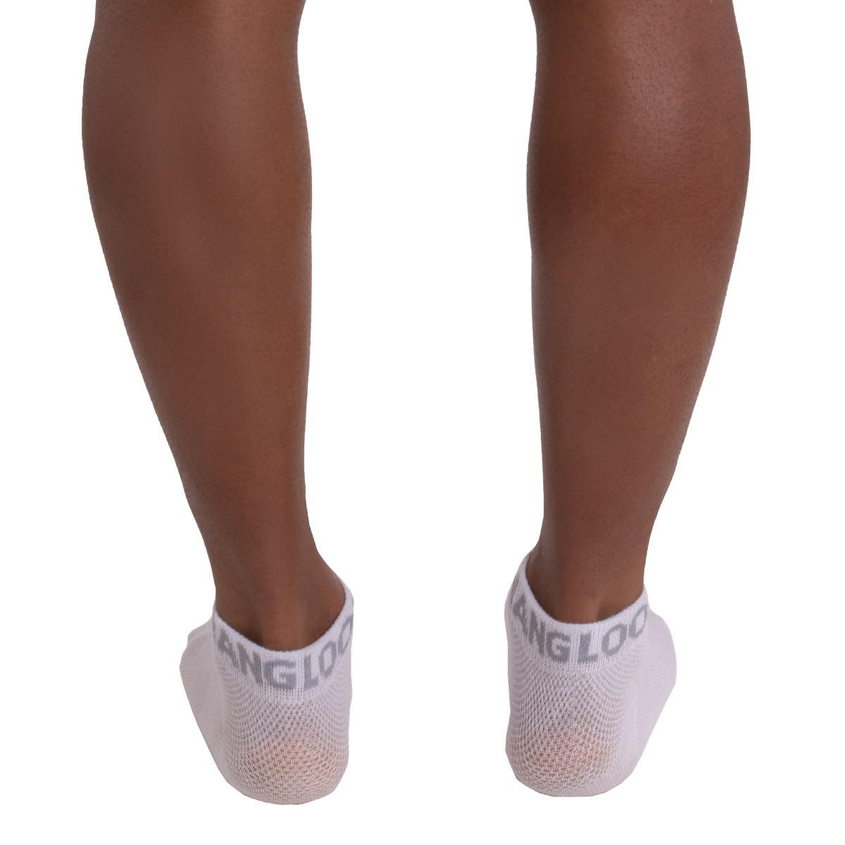 KIT com 3 Meias sapatilha em algodão Hang Loose
