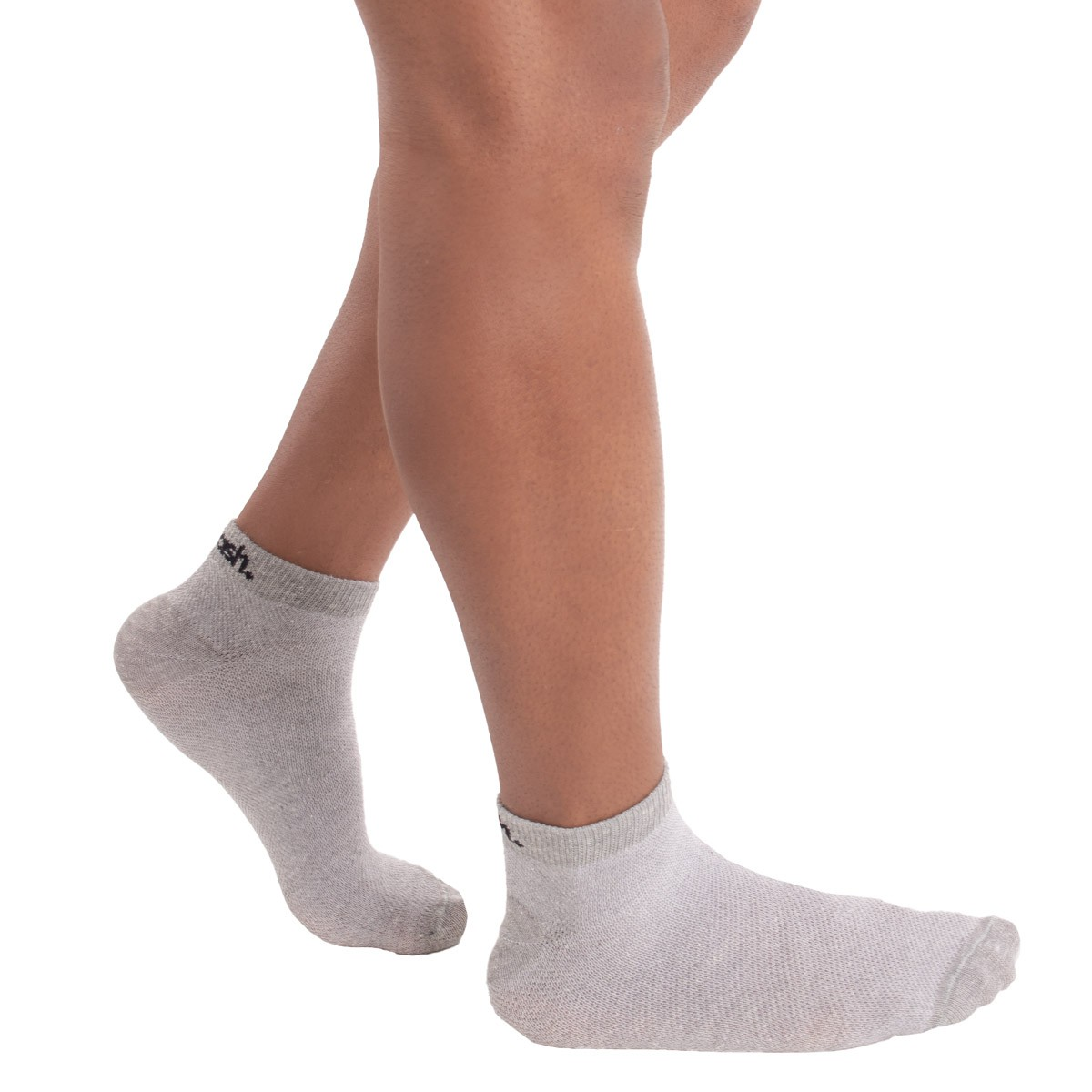 KIT com 3 Meias sapatilha em algodão MASH