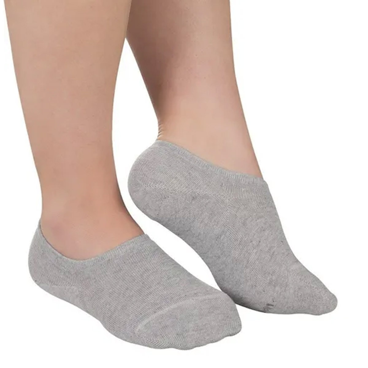 KIT com 3 meia sapatilha invisível feminina Lupo