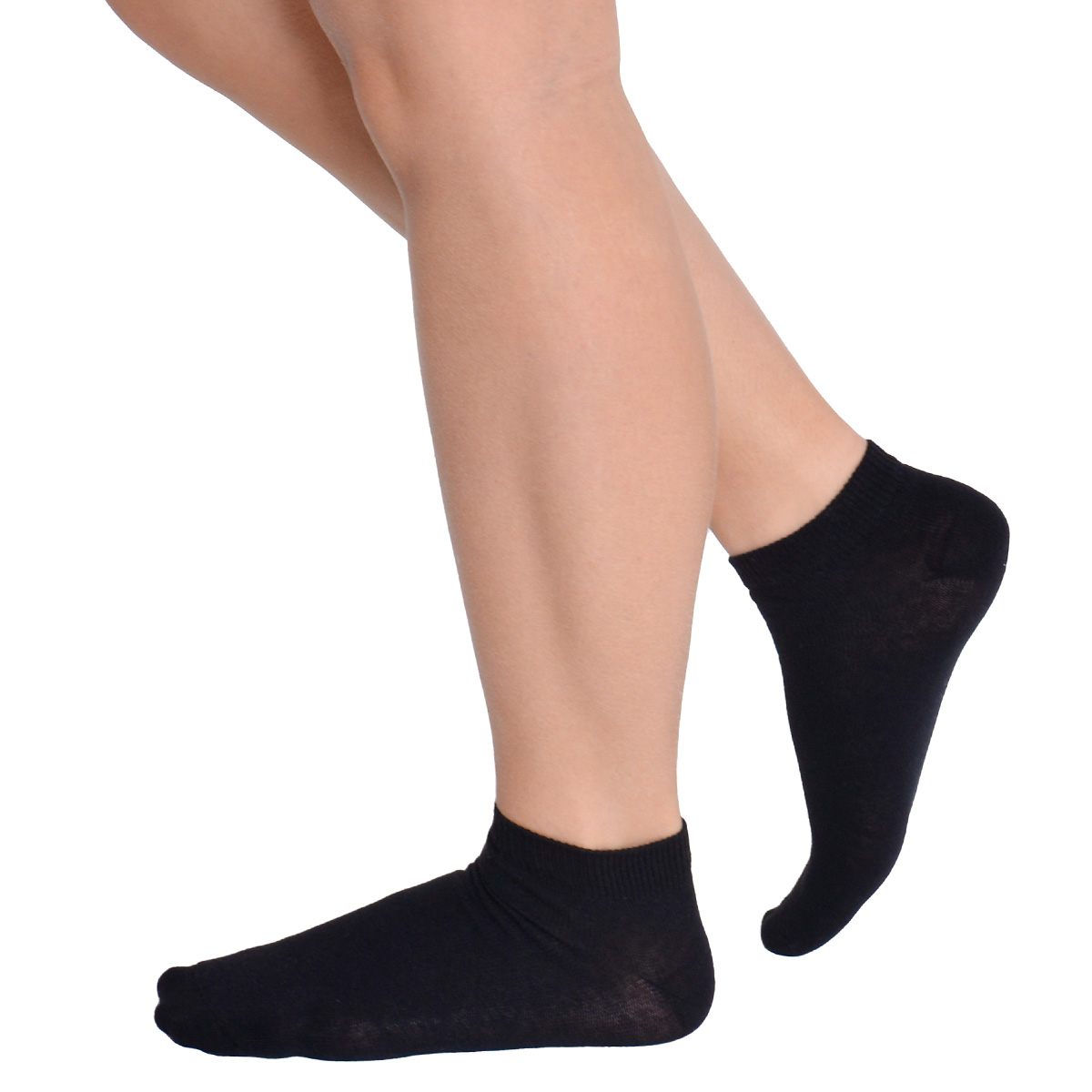 KIT com 3 meias feminina cano curto Trifil