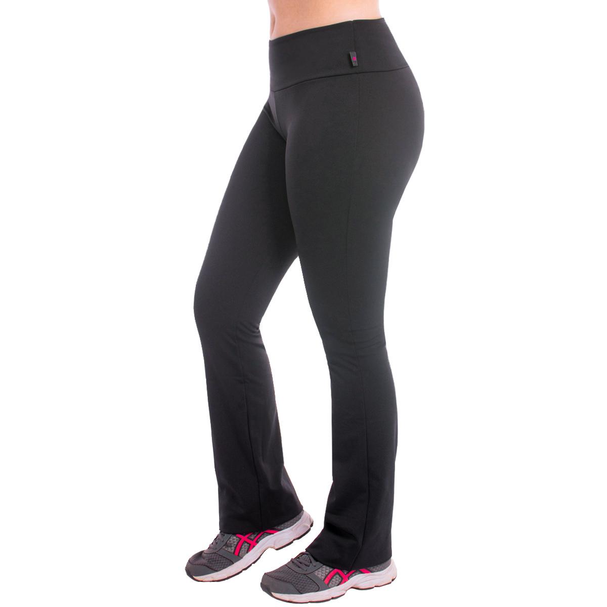 Kit com 5 Calças Legging Feminina Bailarina Peluciada Flare